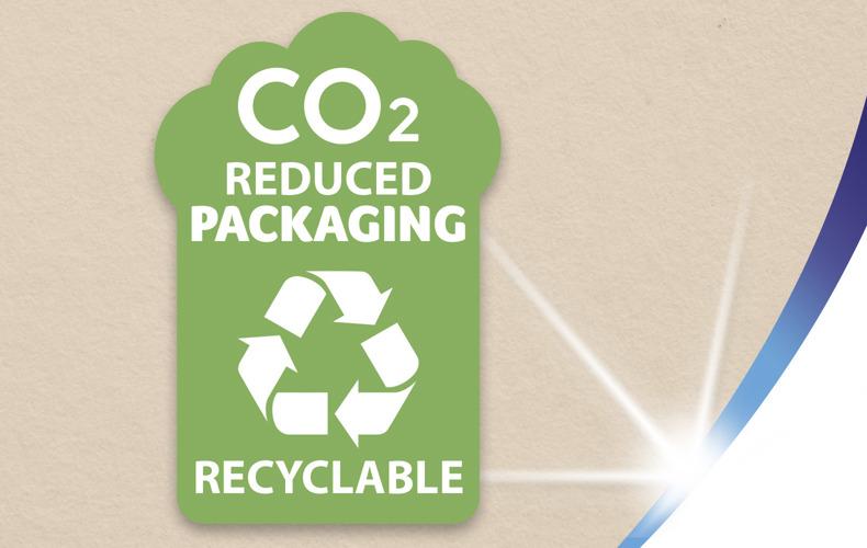 Recyklovatelný obal s nižší uhlíkovou stopou