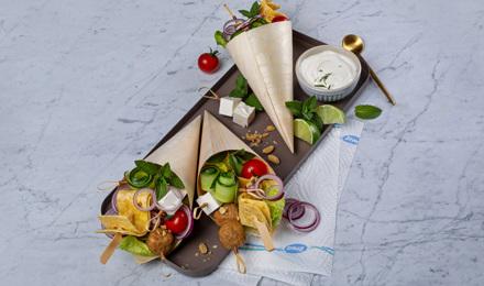 Shawarma-Cones