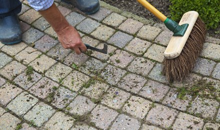Terasz tisztítás természetesen – akkor is, ha nagyon piszkos