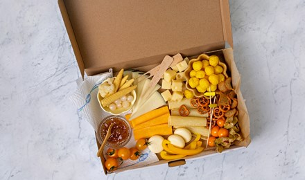 Yellow Cheese Box