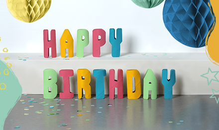 Bastelanleitung Birthday-Rollen
