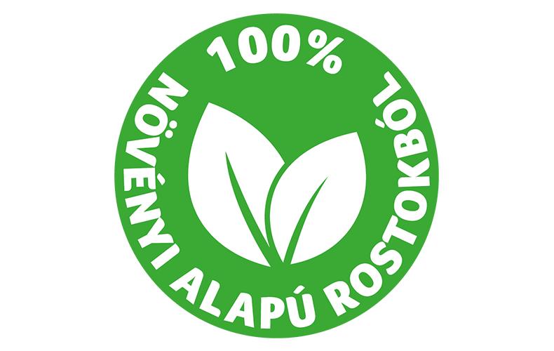 Megalkotását a környezet védelme ihlette, és 100%-ban növényi alapú rostokból készült