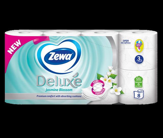 Megújult, selymesen puha Zewa Deluxe toalettpapírok