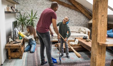 Простое и эффективное расписание уборки дома