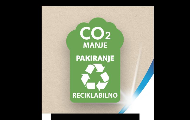 Reciklabilno pakiranje s manje CO₂